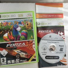 Videojuegos y Consolas: FORZA MOTORSPORT MOTOR SPORT SPORTS 2 VIVA PIÑATA XBOX 360 X360 X-360 KREATEN. Lote 160169282