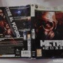 Videojuegos y Consolas: METRO 2033 (SOLO CARATULA). Lote 160384566