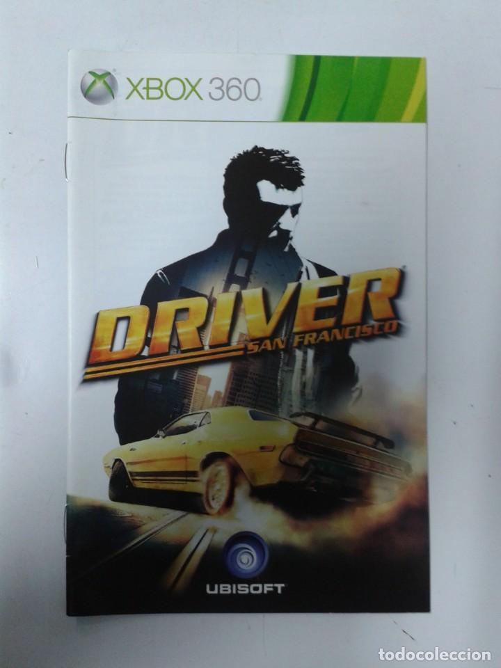 DRIVER SAN FRANCISCO (SOLO MANUAL DE INSTRUCCIONES)