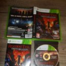Videojuegos y Consolas: XBOX 360 RESIDENT EVIL OPERATION RACOON CITY PAL ESP COMPLETO. Lote 160665498