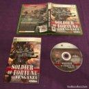 Videojuegos y Consolas: JUEGO SOLDIER OR FORTUNE VENGANZA MICROSOFT XBOX 360. Lote 160903496
