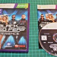 Videojuegos y Consolas: JUEGO XBOX 360 THE BLACK EYE PEAS EXPERIENCE. Lote 161605550