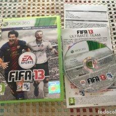 Videojuegos y Consolas: FIFA 13 XBOX 360 X360 KREATEN MICROSOFT. Lote 163447966
