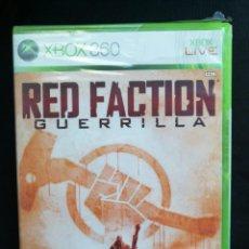 Videojuegos y Consolas: XBOX 360 - RED FACTION GUERRILLA - NUEVO. Lote 164616418
