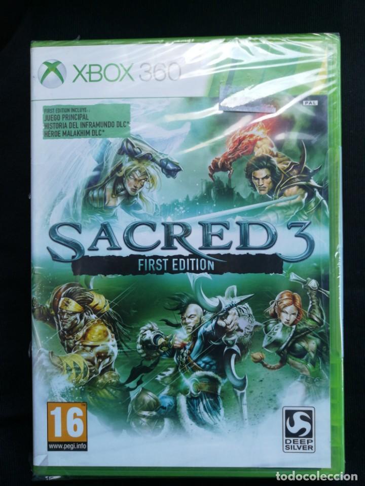 XBOX 360 - SACRED 3 FIRST EDITION - NUEVO (Juguetes - Videojuegos y Consolas - Microsoft - Xbox 360)