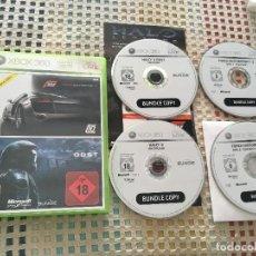 Videojuegos y Consolas: FORZA MOTORSPORT 3 + HALO 3 ODST XBOX 360 X360 X-360 KREATEN. Lote 166596270