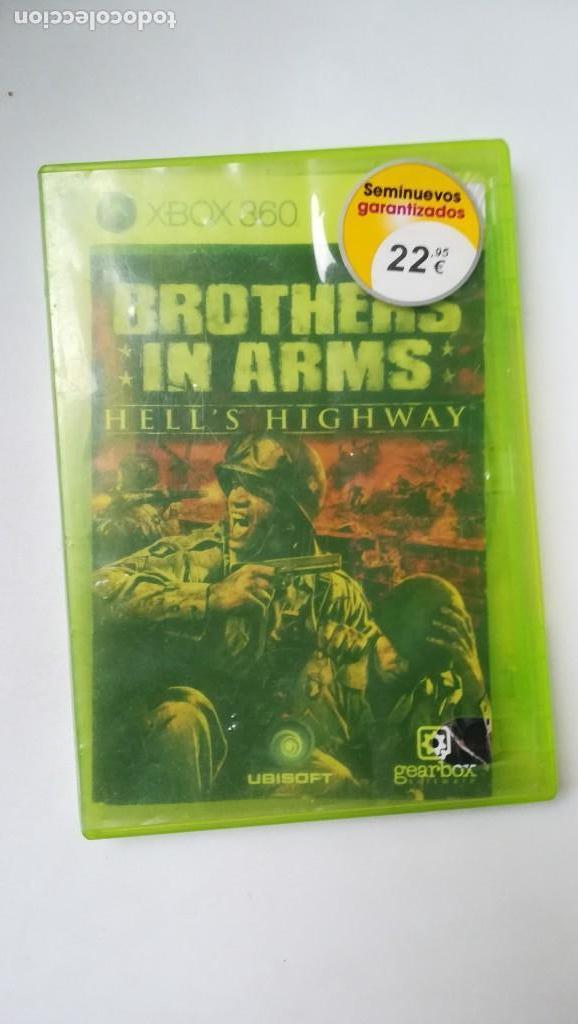 XBOX 360. BROTHERS IN ARMS (Juguetes - Videojuegos y Consolas - Microsoft - Xbox 360)