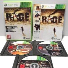 Videojuegos y Consolas: RAGE ANARCHY EDITION XBOX 360. Lote 167026786