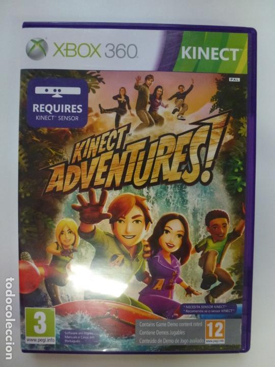 KINECT ADVENTURES! XBOX 360. CON INSTRUCCIONES. (Juguetes - Videojuegos y Consolas - Microsoft - Xbox 360)