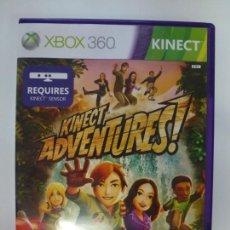Videojuegos y Consolas: KINECT ADVENTURES! XBOX 360. CON INSTRUCCIONES.. Lote 167123476