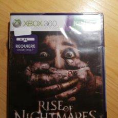 Videojuegos y Consolas: XBOX 360 - RISE OF NIGHTMARES - REQUIERE SENSOR KINECT - NUEVO. Lote 167479152