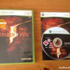 Videojuegos y Consolas: RESIDENT EVIL 5. XBOX 360 COMPLETO. Lote 167506272