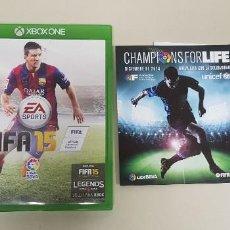 Videojuegos y Consolas: 619- FIFA 15 XBOX ONE VERSION ESPAÑOLA DISCO COMO NUEVO NUM 3. Lote 167793076