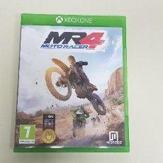 Videojuegos y Consolas: 619- MOTO RACER 4 XBOX ONE VERSION ESPAÑOLA . Lote 167794064