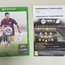 Videojuegos y Consolas: 619- FIFA15 XBOX ONE VERSION ESPAÑOLA NUM 5. Lote 167798720