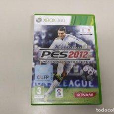 Videojuegos y Consolas: 619- PES 2012 VERSIÓN ESPAÑOLA XBOX 360 SIN MANUAL. Lote 168676496