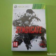Videojuegos y Consolas: SYNDICATE XBOX 360.. Lote 169313296