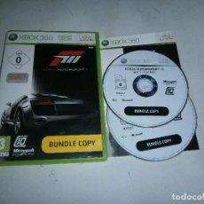 Videojuegos y Consolas: FORZA MOTORSPORT 3 XBOX 360 PAL COMPLETO . Lote 169356752