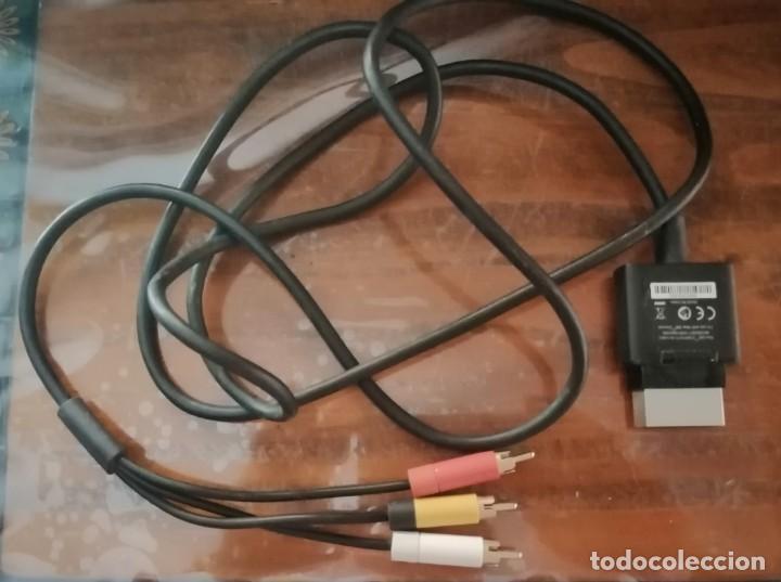 CABLE AV RCA XBOX 360 CABLE AUDIO VÍDEO PARA EUROCONECTOR RCA XBOX 360. (Juguetes - Videojuegos y Consolas - Microsoft - Xbox 360)