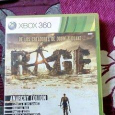 Videojuegos y Consolas: RAGE XBOX 360. Lote 170536896