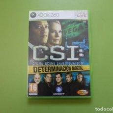 Videojuegos y Consolas: CSI XBOX 360. Lote 170660212