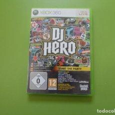 Videojuegos y Consolas: DJ HERO XBOX 360. Lote 170663865