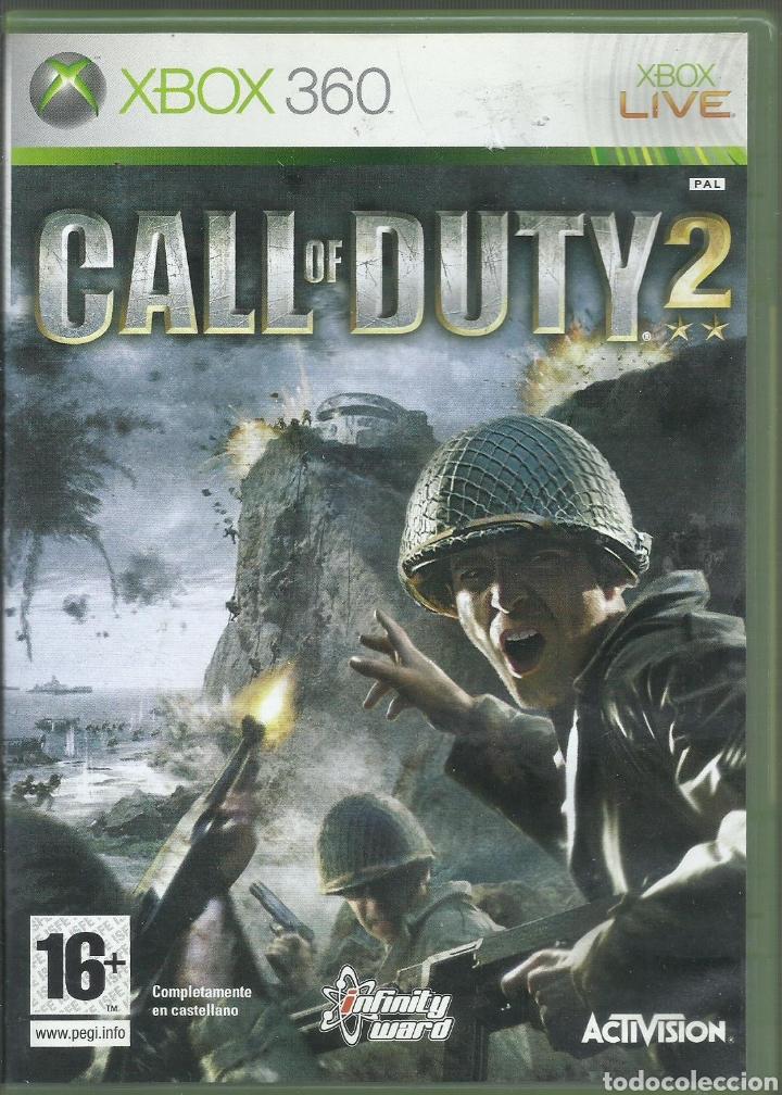 CALL OF DUTY 2, CARATULA EN ESPAÑOL JUEGO EN INGLES PAL (Juguetes - Videojuegos y Consolas - Microsoft - Xbox 360)