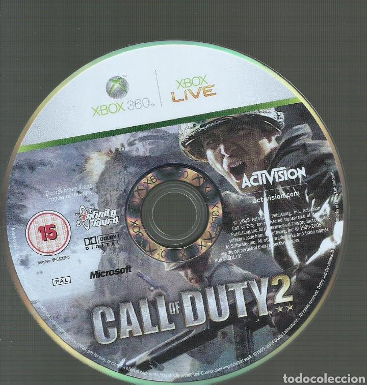 Videojuegos y Consolas: Call of Duty 2, Caratula en español juego en ingles PAL - Foto 2 - 170893860