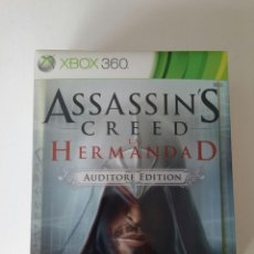 Videojuegos y Consolas: ASSASSINS CREED LA HERMANDAD AUDITORE EDITION ESPAÑA. Lote 171057023