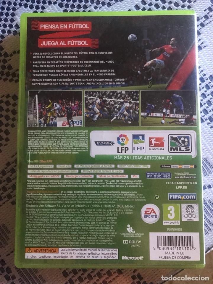 Videojuegos y Consolas: Fifa 12 Xbox 360 - Foto 2 - 171228543