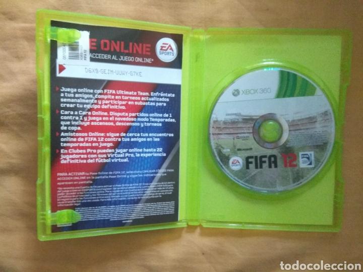 Videojuegos y Consolas: JUEGO VIDEOJUEGO FIFA 2012, XBOX 360 DE EA SPORTS - Foto 2 - 171628910