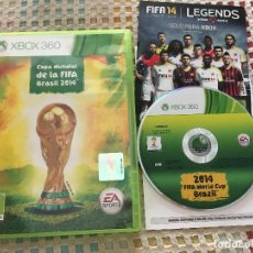 Videojuegos y Consolas: COPA MUNDIAL DE LA FIFA BRASIL 2014 FIFA WORLD CUP BRAZIL 14 XBOX 360 X360 X-360 KREATEN. Lote 171733243