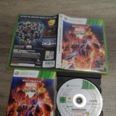 Videojuegos y Consolas: XBOX 360 ULTIMATE MARVEL VS CAPCOM 3 PAL UK COMPLETO. Lote 171891274