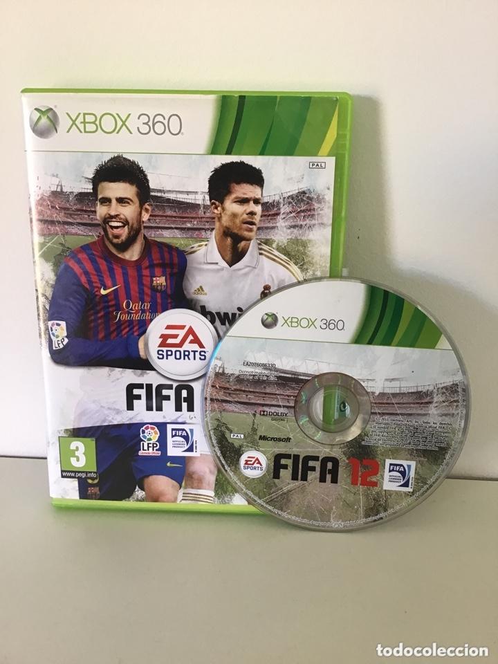 XBOX 360 FIFA 12 (Juguetes - Videojuegos y Consolas - Microsoft - Xbox 360)