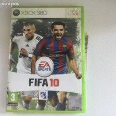 Videojuegos y Consolas: FIFA 10 XBOX 360. Lote 173872259