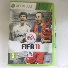 Videojuegos y Consolas: FIFA 11 XBOX 360. Lote 173872350