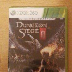 Videojuegos y Consolas: XBOX 360 - DUNGEON SIEGE III - ED. LIMITADA - NUEVO. Lote 174194738