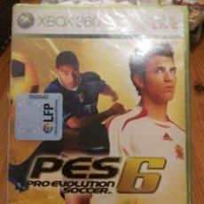 Videojuegos y Consolas: XBOX 360 - PES 6- NUEVO. Lote 174472050