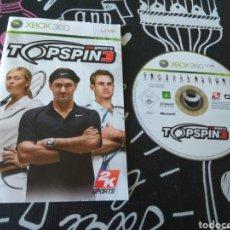 Videojuegos y Consolas: LEER ANUNCIO TOP SPIN 3. XBOX 360. MICROSOFT (SOLO DISCO Y MANUAL). Lote 174871253