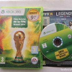 Videojuegos y Consolas: COPA MUNDIAL DE LA FIFA BRASIL 2014 FIFA WORLD CUP BRAZIL 14 XBOX 360 X360 X-360 KREATEN. Lote 176137439
