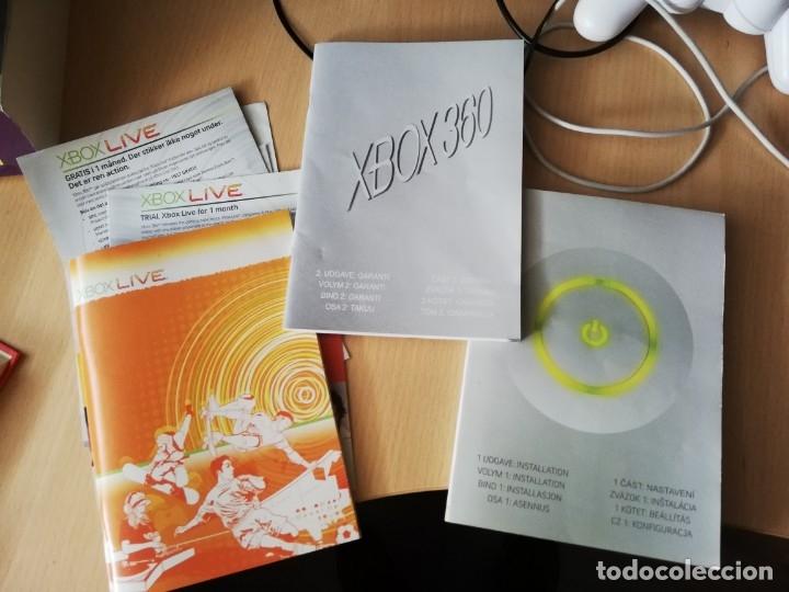 LOTE INSTRUCCIONES XBOX 360 + XBOX LIVE (Juguetes - Videojuegos y Consolas - Microsoft - Xbox 360)