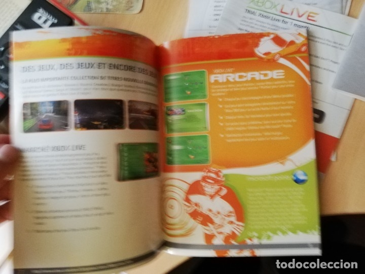 Videojuegos y Consolas: LOTE INSTRUCCIONES XBOX 360 + XBOX LIVE - Foto 4 - 176217024