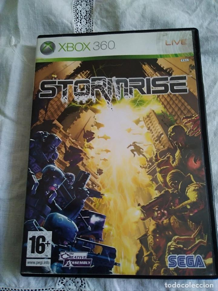 36-XBOX 360 ,STORMRISE CON MANUAL Y CAJA. (Juguetes - Videojuegos y Consolas - Microsoft - Xbox 360)