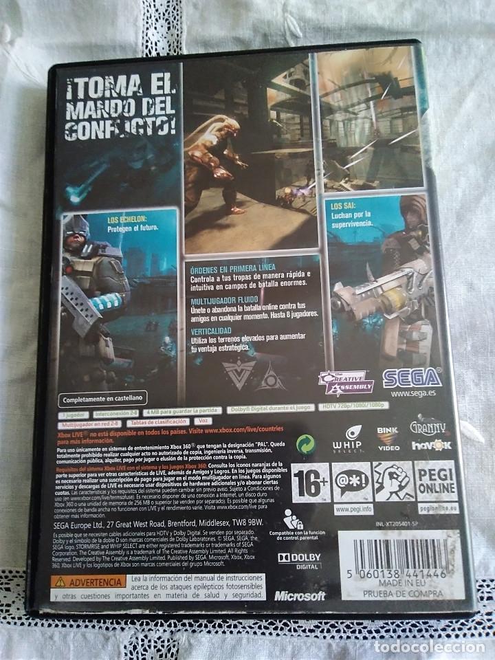 Videojuegos y Consolas: 36-XBOX 360 ,STORMRISE con manual y caja. - Foto 3 - 176219548