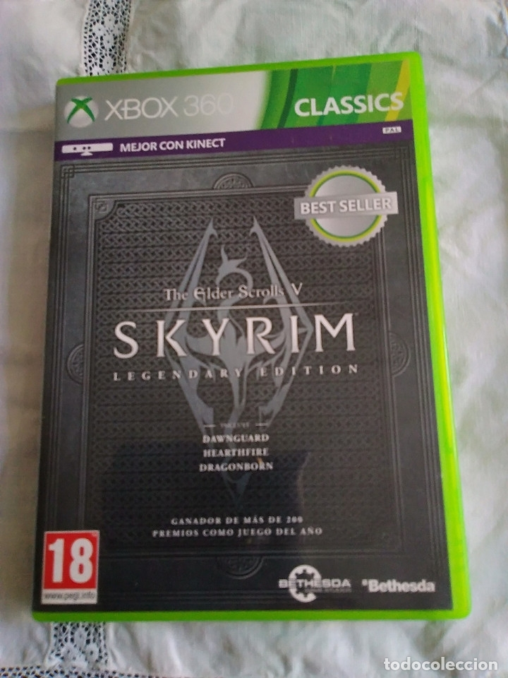 31-XBOX 360 SKYRIN, LEGENDARY EDITION, SIN MANUAL (Juguetes - Videojuegos y Consolas - Microsoft - Xbox 360)