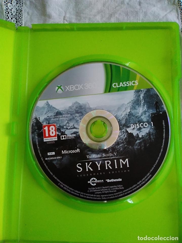 Videojuegos y Consolas: 31-XBOX 360 SKYRIN, legendary edition, sin manual - Foto 2 - 176220022