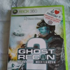 Videojuegos y Consolas: 30-XBOX 360 , GHOST RECON 2, ADVANCE WARFITHER, CON MANUAL Y CAJA.. Lote 176220120