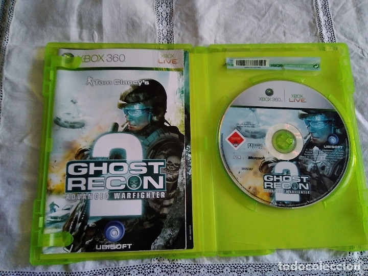 Videojuegos y Consolas: 30-XBOX 360 , GHOST RECON 2, advance warfither, con manual y caja. - Foto 2 - 176220120