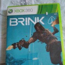 Videojuegos y Consolas: 28-XBOX 360 BRINK CON MANUAL Y CAJA. Lote 176220257