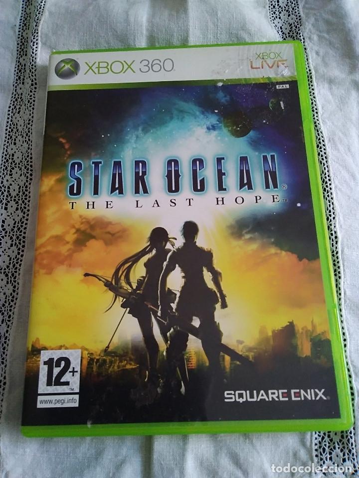 25-XBOX 360 STAR OCEAN, THE LAST HOPE, SIN MANUAL (Juguetes - Videojuegos y Consolas - Microsoft - Xbox 360)